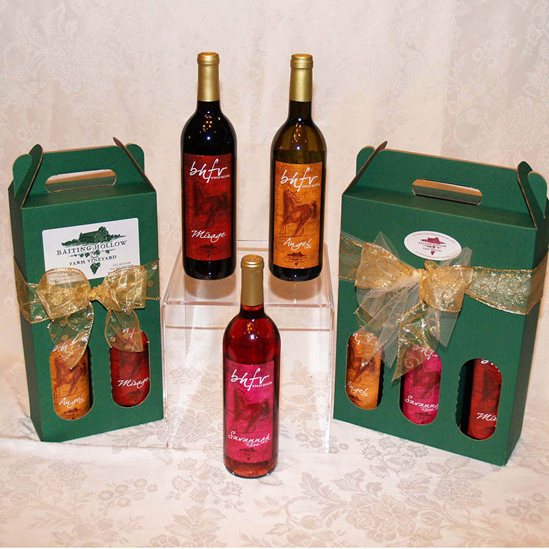 3 Bottle Horse Rescue Wine Gift Packs