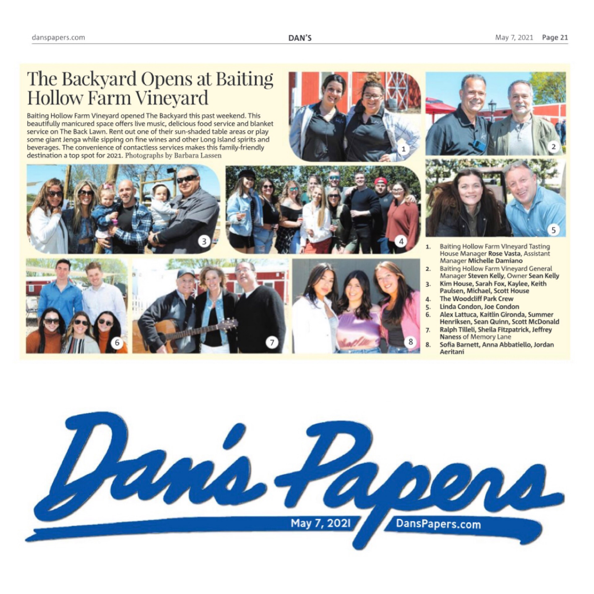 Dans's Paper s- Welcome to The Backyard